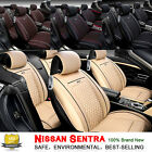 PU Leather Car Seat Cover Chair Cushion Mat For Nissan Sentra 10-16 4 Color SH on eBay