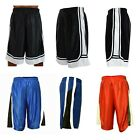Men Basketball Shorts Mesh Quick Dry Gym Workout Running with Side 2 Pockets