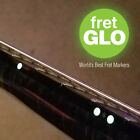 "Fret GLO ""Glow in the dark fret position marker Stickers for Guitar or Bass"""