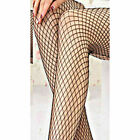 NEW LADIES' TIGHTS FISHNET/WHALENET TIGHTS BLACK DANCE PLUS SIZE 6-18 UK STRETCH
