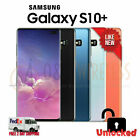 NEW Samsung GALAXY S10 Plus 128GB 512GB 1TB SMG975U1, Unlocked All Colors