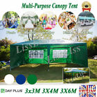 Hot! 3x3M 3x4M 3x6M PE Gazebo Marquee Canopy Party Tent for Wedding BBQ Parking