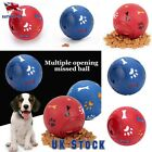 Pet Paws Training Food Dispenser Toy Leaking Funny Dogs Chewing Ball Puppy UK