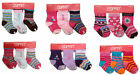 3 Pairs Esprit Baby Infant Toddler Socks Girls 0-18 mo Pink, White, Purple Brown