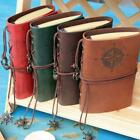 Kyпить Retro Vintage PU Leather Bound Blank Page Notebook Note Notepad Journal Diary LJ на еВаy.соm