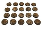 25mm Resin Wargaming Textured Rocky Terrain Bases Warhammer/Warmachine/D&D Small