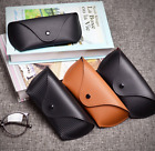 Leather Sunglasses Eyeglasses Hard case Pouch Fits for MK Ray Ban Oakley Glasses