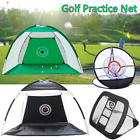 Portable Foldable Golf Practice Cage Net Training Aid Tool With Bag