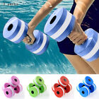 2Pcs Water Aerobics Aquatic Dumbbell EVA Yoga Barbell Exercise Fitness Equipment image
