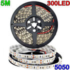 Kyпить USA Bright 12V 5M 16.4ft 5050 RGB Waterproof SMD 300 LED Flexible Strip light на еВаy.соm