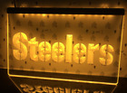 Pittsburgh Steelers LED Sign Gift Football Tailgate Party Fan NFL Super Bowl