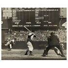 Cleveland Indians' Bob Feller pitching to New York Yankees' Joe DiMaggio Poste on Ebay