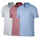 Nike Mens Dry Victory Stripe Polo Golf Shirt - Pick Color & Size $44.95 USD on eBay