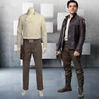 Hot! New Star Wars The Last Jedi Poe Dameron Cosplay Costume AA.1059