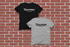 New T-Shirt Triumph Motorcycle Classic Logo Black & White Size XS - 3XL $13.99 USD on eBay