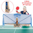 Super Master Table Tennis Training Robot Catch Net&Wireless Remote Improved Mode