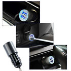 Hot -HU06 2.1A Mini Dual Port USB Car Charger Adapter For Cell Phone Samsung /LG