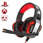 Beexcellent Pro Stereo Gaming Headset for PS4 Xbox One PC, All-Cover Over Ear
