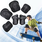 6pcs Skating Protective Gear Sets Elbow Knee Pads Bike Skateboard Kids image