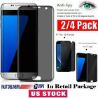 For Samsung Galaxy S7 Edge Privacy Screen protector 3D Tempered Glass Anti-Spy