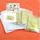 100 PCS Premium Ginger Detox Foot Pads Patch New Herbal Pads Detox Cleansin F6Q2