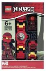 LEGO NINJAGO Minifigure Link Buildable Wrist Watch Kids Toy Gift Time Childrens