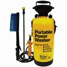 8L Portable Pressure Washer – Hand Pump Action Garden Power Sprayer Water Manual