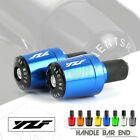 Handle Bar Grips End Weights Caps Plugs Slider for YAMAHA YZF R1 R6 R15 V3 V6 R3