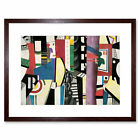 Fernand Leger The City 1919 Old Painting Framed Art Print 12x16 Inch