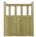 Hampton Wooden T&G Joinery Grade Softwood Pedestrian Gate - Gardens or Entrances