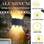 Aluminum Sconce Outdoor LED Wall Lamp Garden Corridor Balcony Up Down Lights