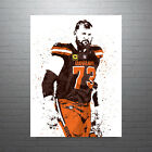 Joe Thomas Cleveland Browns Poster FREE US SHIPPING $15.0 USD on eBay