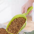 Plastic Pet Cat Dog Puppy Food Scooper Spoon Scoop Shovel Feeding Seed Feede OQF