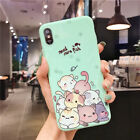 Cute Kitty Cat Panda Glossy Phone Case Shockproof Back Cover for iPhone 6-Xs Max