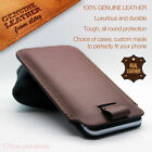 Brown✔Luxury Leather Style Pull Tab Pouch Phone Case Cover✔Excellent Protection comprar usado  Enviando para Brazil