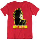 Control,Janet Jackson Tee 90's R&B Retro Vintage T Shirts  Many Colors Gift New image
