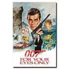For Your Eyes Only 20x30/24x36inch 007 James Bond Movie Silk Poster Art Print $9.24 CAD on eBay