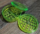 BIG Magnetic Herb Grinder 6cm Plastic No 1 Strong Shark Teeth Crumbler Hemp Gift