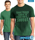 Sweat Activated Technology Shirt For Gym or Workout Green Color Great Gift