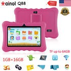 "7"" 3G Tablet Android Quad Core 1+16GB WIFI 2*Camera Bundled Case Learning Pad PC"