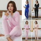 Women's Tops+pants Ladies Autumn Comfortable Pajamas Winter Tops+pants Loose