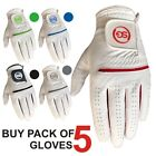5 SG Men All weather golf gloves Cabretta leather palm patch and thumb 5 colors