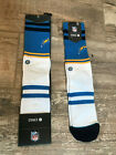 Mens Stance Socks NFL Chargers Logo Football L 9-12 Los Angeles $11.99 USD on eBay