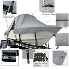 Catamarans Twin Vee 240 T-Top Hard-Top Fishing Storage Boat Cover