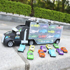 Transporter Truck Diecast Toy Car Carry Case Cars, Helicopter Large Storage Boys