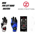 RIGHT Hand MENS ZERO FRICTION GOLF GLOVE One Size Fits All for left Hand Players