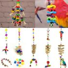 Bird Pet Toy Parrot Hanging Swing Rope Cage Toys Parakeet Cockatiel Budgie Lot
