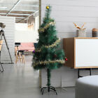 4/5/6 Ft Artificial Christmas Tree W/Stand Holiday Season Xmas Decoration Green