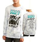 KIss in Concert T-Shirt metal rock Tie Dye long sleeve Official M L XL 2XL NWT image