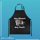 Personalised Apron Custom Printed Pocket Master Cooking Chef Logo Text Any Image